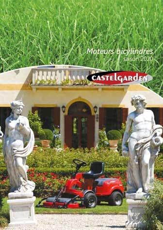 Castelgarden brochure Moteurs bicylindres Belgique