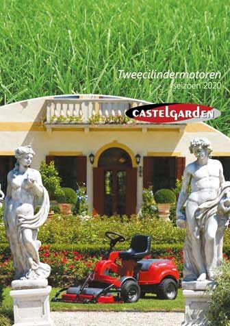Castelgarden Tweecilindermotoren catalogus België