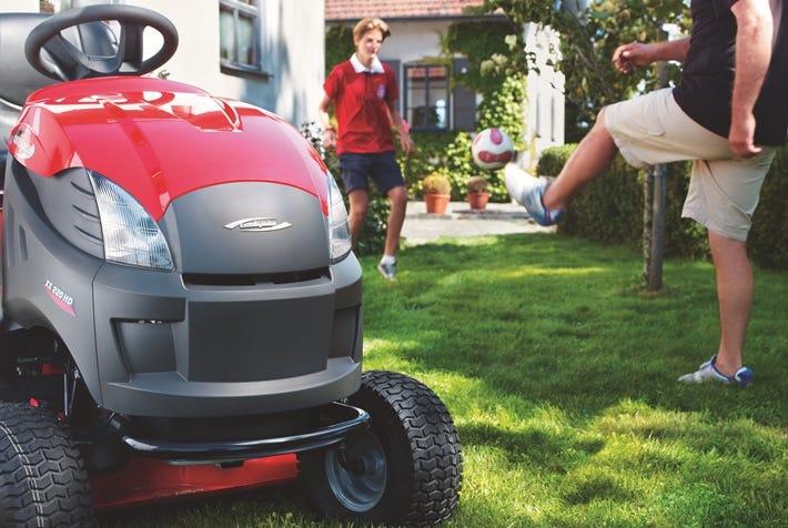 tracteur de jardin-tondeuse autoportee-thermique-castelgarden