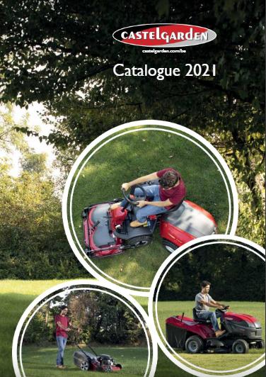 Castelgarden catalogue 2021 Belgique