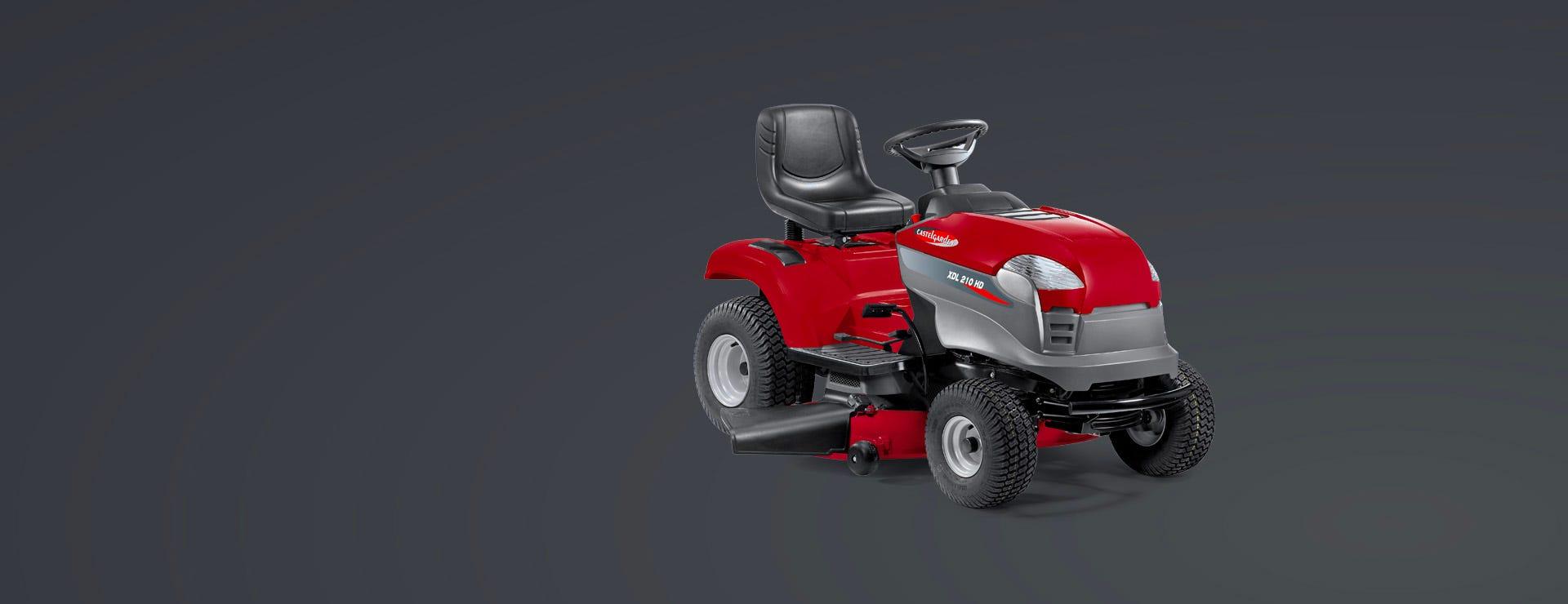castelgarden-tracteur de jardin-autoportee-thermique-éjection latérale-xdl 210 hd