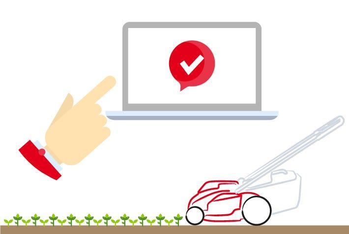 online registratie castelgarden machine